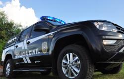 Investigado por feminicídio de companheira encontrada morta em banheiro é preso pela Polícia Civil