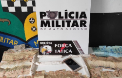 Casal é preso com artefatos explosivos e R$ 13 mil