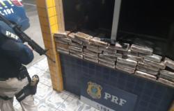 Sargento da PM de MT é preso com 41 quilos de cocaína no Ceará