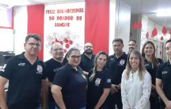 Policiais civis se unem para doação de sangue no Hemocentro do Estado
