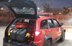 Bombeiros de Sinop são acionados para fazer buscas por criança em córrego no Nortão