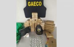 Gaeco apreende 35 quilos de cocaína em MT