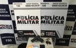 Rotam e Força Tática prendem três suspeitos em flagrante por roubo em hotel de Cuiabá