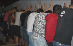 Ação conjunta &#39fecha&#39 festa de adolescentes regada a bebidas alcoólicas e narguilé