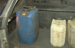 Homem é preso roubando combustível no patio do Detran de Cuiabá