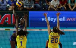Itália derrota Brasil na última partida classificatória da Liga das Nações.
