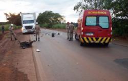 Recente: Acidente de colisão deixa dois mortos na MT 010 nesta tarde.