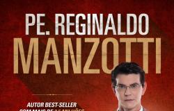 Padre Reginaldo Manzotti lidera a lista de livros mais vendidos no Brasil