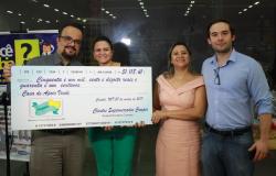 """Projeto """"Troco Solidário"""" da rede de Supermercados Comper, beneficia a instituição Casa de Apoio Vinde."""