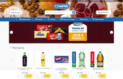 E-commerce -  Comper oferece mais uma opção de compras  para os consumidores