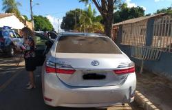 Cinco veículos foram recuperados no final de semana