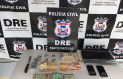 Polícia Civil prende dupla que vendia drogas na UFMT e escolas