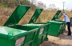 Prefeitura substitui contêineres e amplia dias de coleta de lixo na Rodovia Emanuel Pinheiro