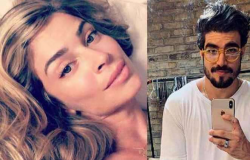 Caio Castro assume namoro com Grazi em festa de a dona do pedaço