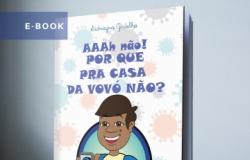 """E-book  Infantil : """"Ahhh não! Por que pra casa da vovó não?"""""""