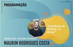 Museu de Arte Sacra de MT lives 25 e 26 de abril