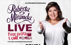 Roberta Miranda revela convidada especial para live
