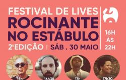 Festival Lives Rocinante no Estábulo 30 de Maio -  por Gilda Portella