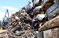 Detran-MT recicla mais de 6 mil veículos