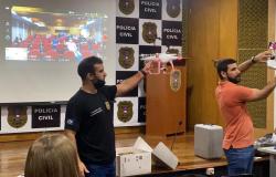 Policiais da DERRFVA são capacitados em Instrução de Operador de Drone