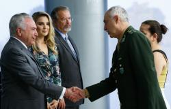 """Temer ressalta papel das Forças Armadas: """"Expressão visível do Estado"""""""