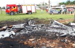 Queda de avião mata filho de proprietário do posto Xaxim em Nobres