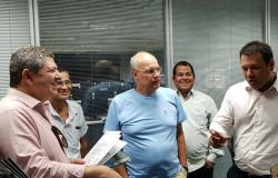 Prefeito se reúne com Secretário de Estado de Segurança Pública e pede delegado titular para Nobres