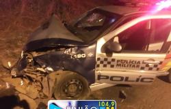 Tenente ferido após acidente em Diamantino