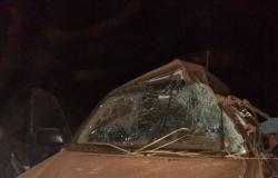 Bandidos abandonam caminhonete roubada em Bom Jardim após capotar veículo