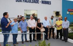 Com presença de autoridades, UNIP inaugura polo de ensino em Nobres