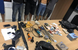 Associação criminosa de MT envolvida em furtos a bancos é presa na Paraíba em força-tarefa