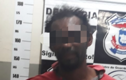 Após  roubo em loja  homem é detido por populares