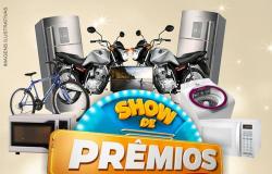Supermercado Polo Centro realiza Show de Prêmios; premiação totaliza 30 mil