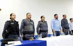 7°BPM de Rosário Oeste realiza aula inaugural do Projeto Polícia Militar Mirim
