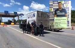Caminhonete roubada em Cuiabá é recuperada pela PM em Jangada , suspeito é preso