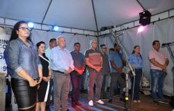 Inicio das festividades do aniversário  da cidade de Nobres  na Vila Roda D&#39Água; veja fotos
