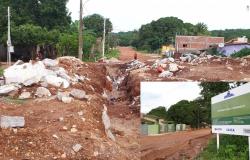 Após abandono da empresa vencedora da licitação, prefeitura fará nova licitação para retomar obra de pavimentação na Avenida Mario Abrãao Nassarden