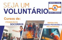 Defesa Civil capacita voluntários para atuação em caso de desastre na Comunidade Sela Dourada