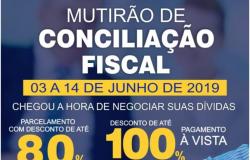 Ação conjunta para o Mutirão de Conciliação Fiscal em Nobres começa dia 03 de junho