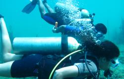 Acqua Fun Salobão lança o mergulho de cilindro