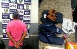 Homem furta supermercado e é preso orando de joelhos na igreja
