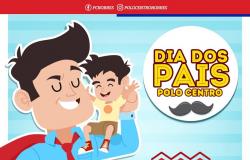 Polo Centro faz promoção para comemorar o Dia dos Pais