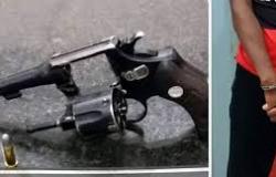 Homem é detido no Jardim Carolina por porte ilegal de arma de fogo e associação criminosa