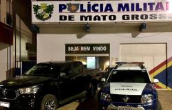 Caminhonete roubada em Cuiabá é recuperada em Barra do Bugres