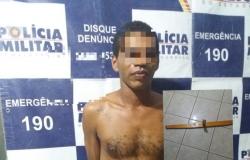 Homem  é  preso após espancamento de mulher  no bairro  São José