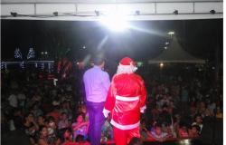 Chegada de Papai Noel encerra ciclo festivo em 2019