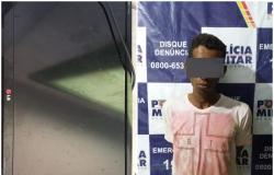 Homem é  preso após  roubo de monitor da TV Cidade em Nobres
