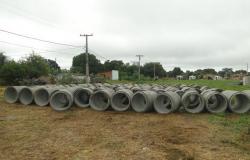 Drenagem de águas pluviais beneficiará bairros na cidade de Nobres
