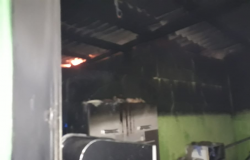 Incêndio atinge Casa Verde