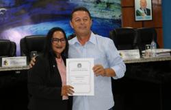 Ex-vereador recebe Titulo de Cidadão Nobrense